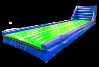 エアートランポリン ストレート・ウォール 一体タイプ 10m(送風機、送風機BOXセット)