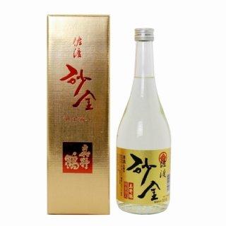 【真野鶴】純金箔入本醸造 砂金 720ml