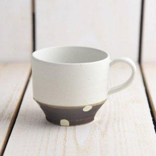美濃焼 チョコ削り マグカップ [ホワイト]