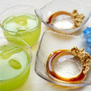 水出し煎茶+水わらび餅セット