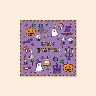 【ハロウィン】一煎ティーバッグ [ 紫 ]