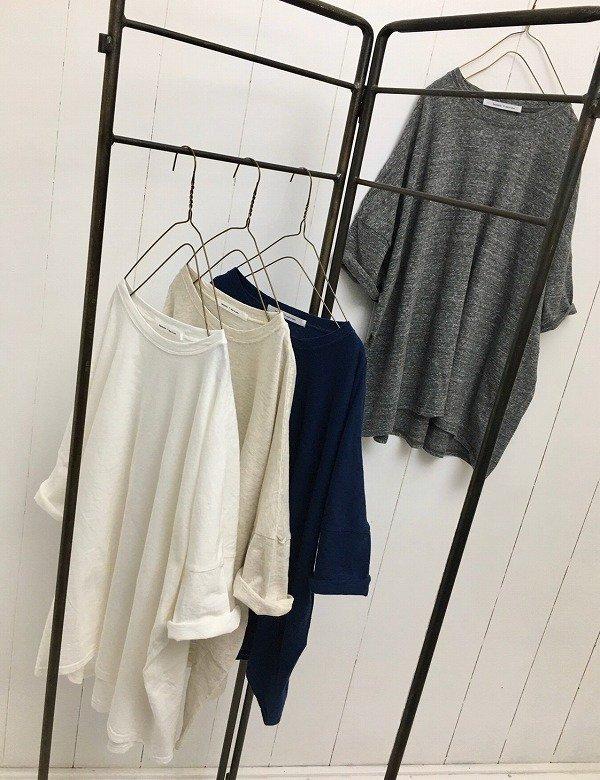リサイクルコットン天竺 BIG TEE シャツ