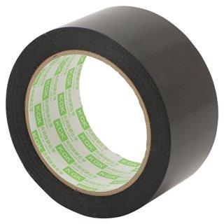 不織基材両面テープ 防水気密テープ スーパーポリクロス片面テープ「VH黒」
