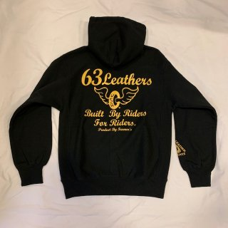 63Leathers Original Zip-Hooded parka