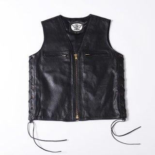63Leathers Original Leather Vest SK-V
