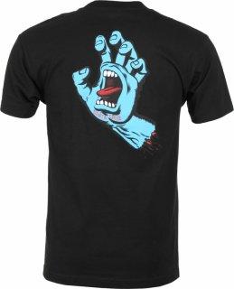 SANTA CRUZ Screaming Hand T-Shirts サンタクルーズ スクリーミングハンド Tシャツ(ブラック)