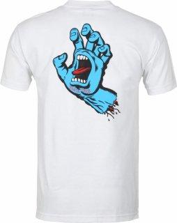 SANTA CRUZ Screaming Hand T-Shirts サンタクルーズ スクリーミングハンド Tシャツ(ホワイト)