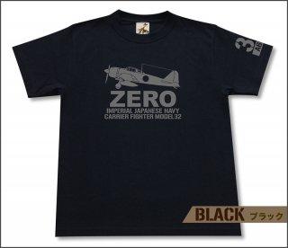 零式艦上戦闘機 32型 Tシャツ