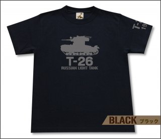 T-26 軽戦車 Tシャツ