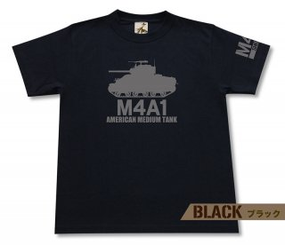 M4A1 シャーマン 中戦車 Tシャツ<img class='new_mark_img2' src='https://img.shop-pro.jp/img/new/icons1.gif' style='border:none;display:inline;margin:0px;padding:0px;width:auto;' />