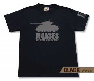 M4A3E8 シャーマン イージーエイト 中戦車 Tシャツ