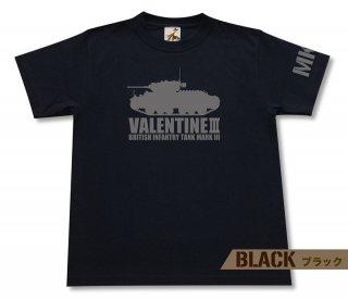 ヴァレンタインMk.III 歩兵戦車 Tシャツ