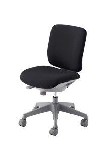 CN33GR CG-R Chair ローバック 布張り 肘なし シェルグレー ナイロンキャスター オカムラ