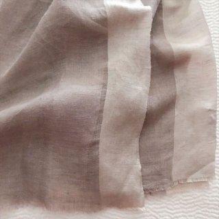 手織シルクリネンストール