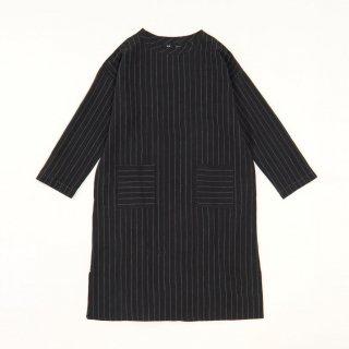 maku INDRI - 50% cotton & 50% wool handwoven dress