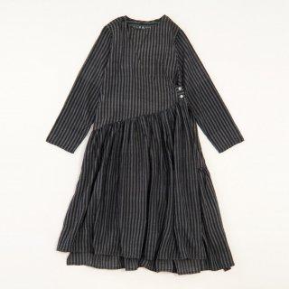 maku DHOLE - 50% cotton & 50% silk handwoven dress