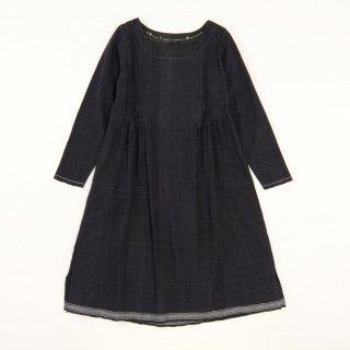 maku PIKA BK - 50% cotton & 50% silk handwoven dress