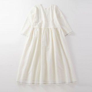 maku SEFID - 50% Cotton & 50% Linen Handwoven Dress