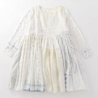 maku FERESTHEH - 60% Silk & 40% Cotton Handwoven Dress