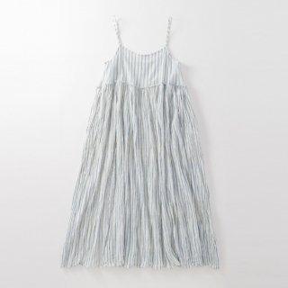 maku GATHERED SLIP - 100% Cotton Handwoven Dress