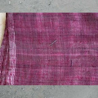 0004 Handwoven Yardage with Natural Dye from Bhujodi  ブジョディの天然染手織生地
