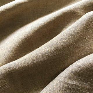 手織タッサーシルク(ナチュラル) /10cmあたり