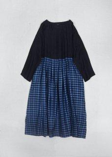 maku KOKALIKA_100% Silk handwoven Dress