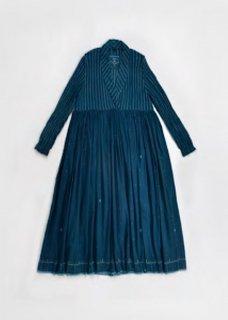 maku VELUKA - 50% Cotton and 50% Silk Handwoven Dress