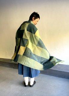 maku HELENA - 70% Silk 30% Cotton Handwoven Scarf