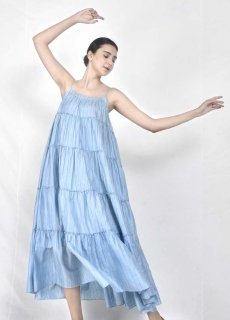 maku VENUS -100% Silk Handwoven Dress