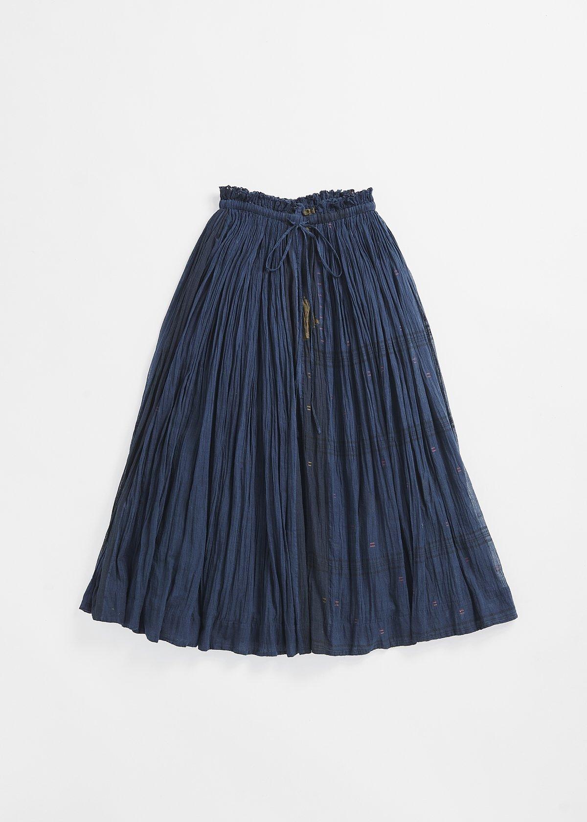 maku MAXI SKIRT -100% Cotton Handwoven Skirt