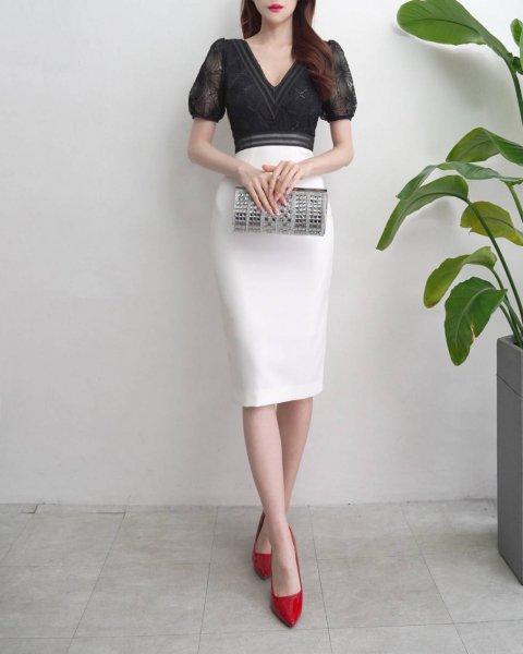 【韓国ドレス】 送料無料 【34921】