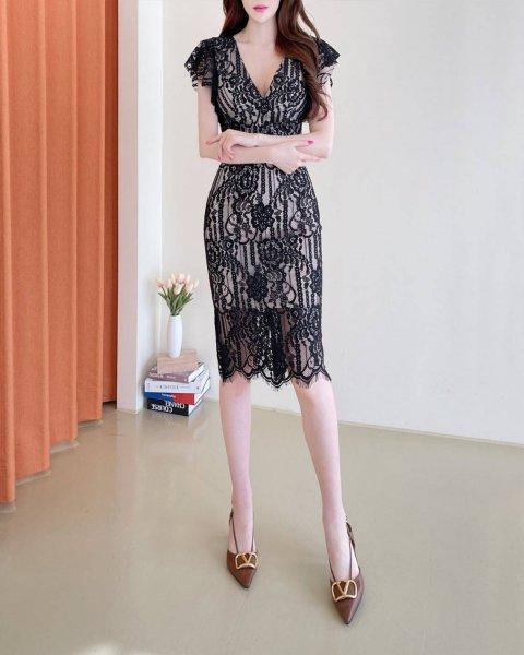 【韓国ドレス】 送料無料 【35113】