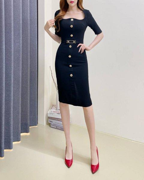 【韓国ドレス】 送料無料 【35162】