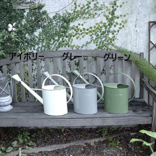 <img class='new_mark_img1' src='https://img.shop-pro.jp/img/new/icons14.gif' style='border:none;display:inline;margin:0px;padding:0px;width:auto;' />Metal outdoor watering can