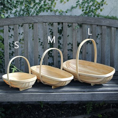 <img class='new_mark_img1' src='https://img.shop-pro.jp/img/new/icons14.gif' style='border:none;display:inline;margin:0px;padding:0px;width:auto;' />Wooden garden trug