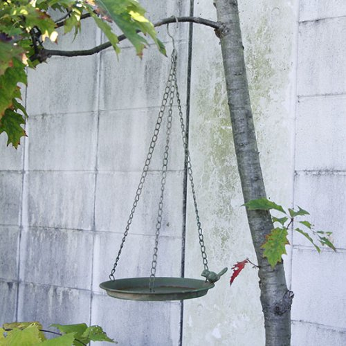 <img class='new_mark_img1' src='https://img.shop-pro.jp/img/new/icons14.gif' style='border:none;display:inline;margin:0px;padding:0px;width:auto;' />Green hanging birdfeeder