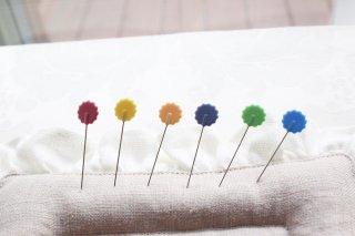 マチ針 花