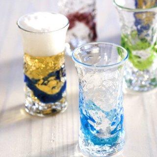 でこ一口ビアグラス