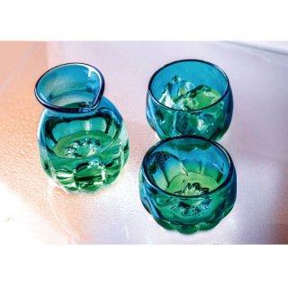 波琉寿トックリグラスセット(Pulse Tokkuri+Glass set) さんご