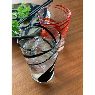 涼風タンブラー2個セット(黒/オレンジ)