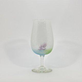 わた菓子ビアグラス(緑水)