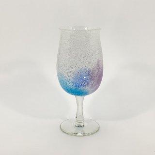わた菓子ビアグラス(青水)
