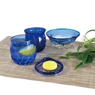 夏の贈り物キャンペーンvol.4(青色) �涼夏小鉢�ジンベエたるグラス�パイングラス�島の小皿