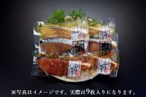 長崎県産養殖ブリ加工品詰め合わせセット 9枚入(冷凍)