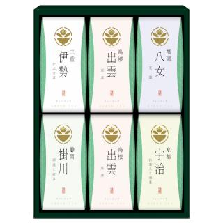 茶の国めぐり 茶水詮 緑茶ティーバッグ詰合せ TB-30 4141