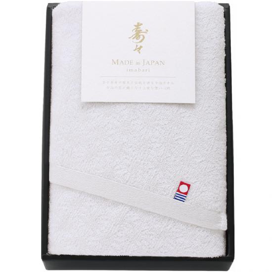 60312寿々(じゅじゅ)紅白タオルセット(白)60312 0091