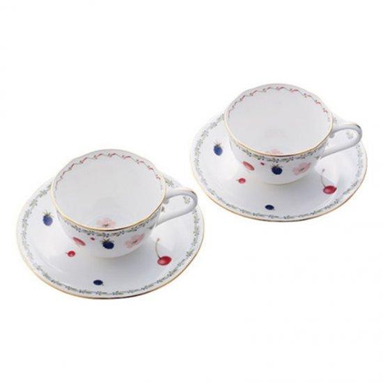 P59387A/4613ノリタケ ポートショア ティー・コーヒー碗皿ペア P59387A/4613 0128