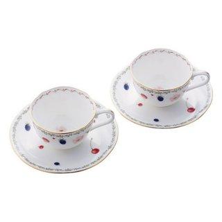 ノリタケ ポートショア ティー・コーヒー碗皿ペア P59387A/4613 0128