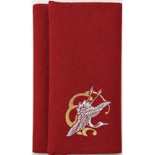 リバーシブル慶弔ふくさ 赤・グレー 408-200 1801